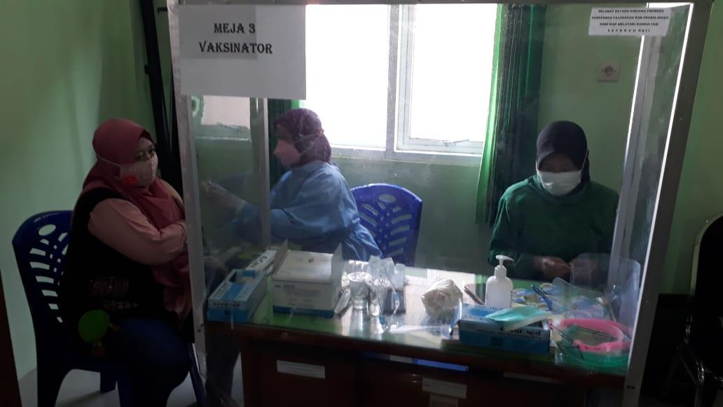 13.519 Pelayan Publik Sudah Disuntik Vaksin Dosis 2
